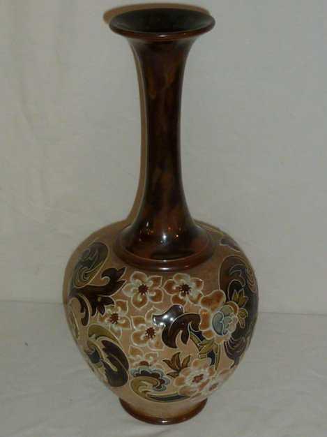 Royal Doulton Slater Vase Floral Pattern