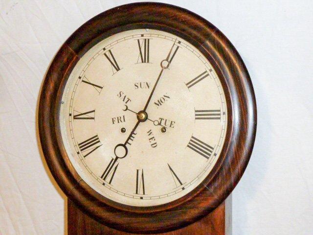 Welch Double Dial Calendar Clock B.B. Lewis - 2