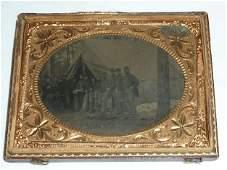 Civil War tin-type William Wells by Ramapo Encampment