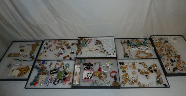 Vintage Designer Costume Jewelry 100+ pieces