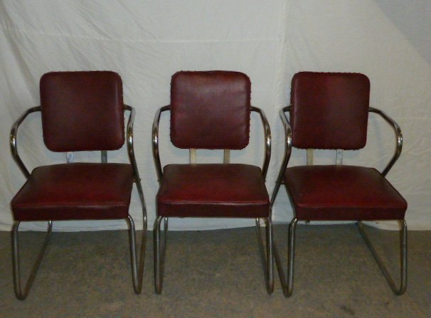 Mid-Century Four Arm Chairs - 2