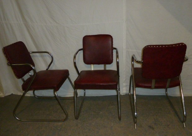 Mid-Century Four Arm Chairs - 4