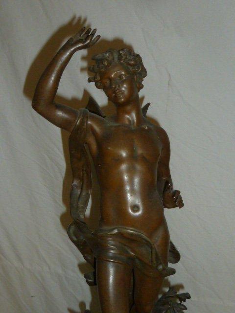 Emile Bruchon Figural shelf Clock - 2