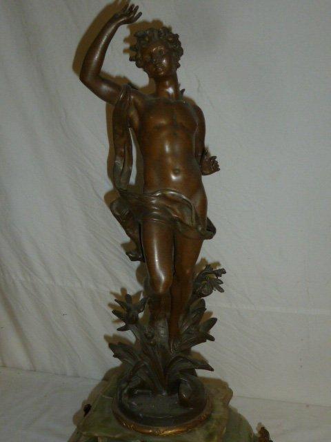 Emile Bruchon Figural shelf Clock - 3