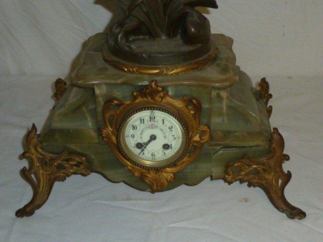 Emile Bruchon Figural shelf Clock - 4
