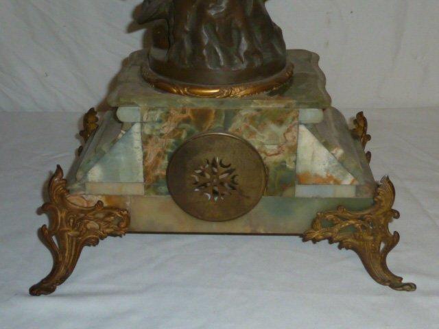 Emile Bruchon Figural shelf Clock - 8