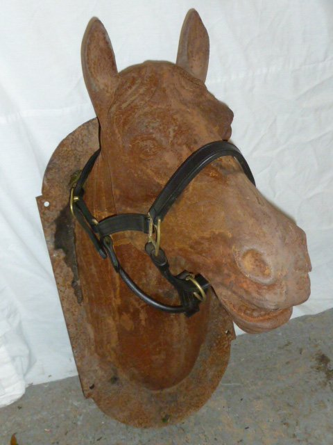 Cast iron Horse Head Stable Sign - 2