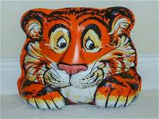 Esso Tiger Gas Station Pump Topper New Old Stock
