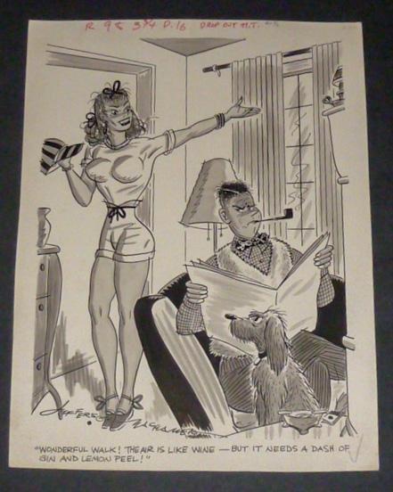 Jefferson Machamer (1900-1960) Original Drawing