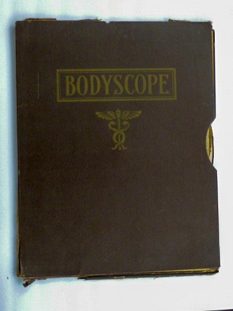Antique Medical Charts Body Scope 1800's