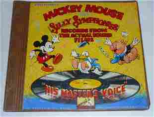 Mickey Mouse & Silly Symphonies Promotional Record Set