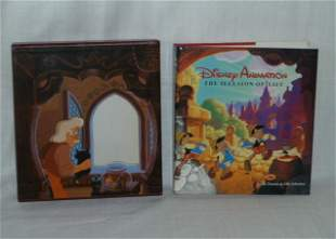 Disney Animation The Illusion Of Life Autographed Copy
