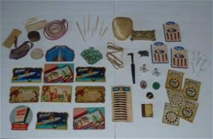 Large Antique Sewing Lot Of Over 40 Vintage Pieces