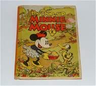 Minnie Mouse Pop Up Book by Walt Disney Enterprise 1933