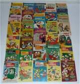 38 Vintage Gold Key Comics, Walt Disney-Dell Comics