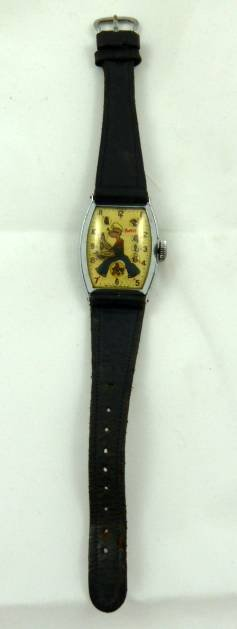 FIRST POPEYE CHARACTER WATCH BY NEW HAVEN CIRCA 1935 - 2