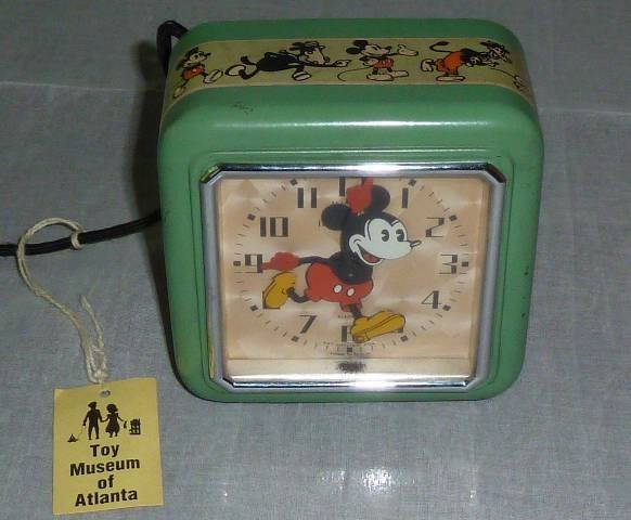 FIRST DISNEY ELECTRIC CLOCK TUMBLING MICKEY 1933