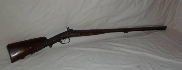 F.WEISGERBER ENGRAVED SHOTGUN 19TH CENTURY - 7