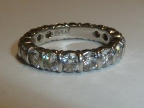 Classic Diamond Eternity Ring Platinum