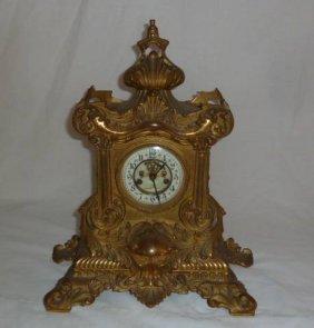 Bronze Waterbury Shelf Clock