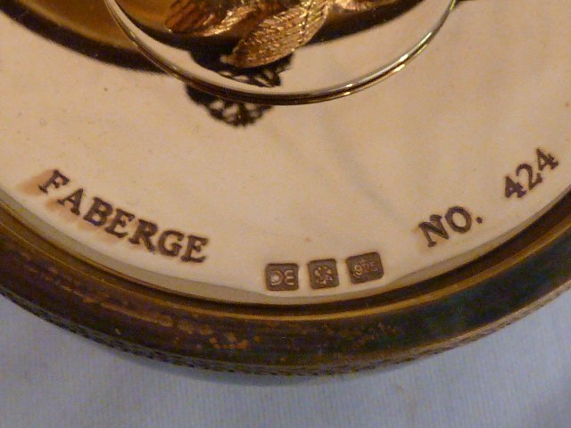 FABERGE LIMOGES IMPERIAL MUSICAL EGG MIB - 8