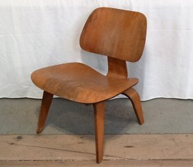 Herman Miller/eames Lcw Ash Lounge Chair