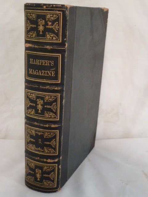HARPER'S 1851 VOLUME #3  MOBY DICK 1ST EDITION
