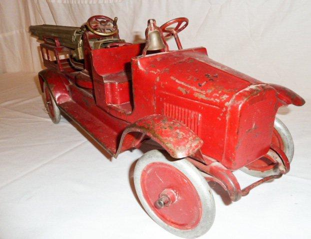 1920'S BUDDY L AERIAL LADDER FIRE TRUCK - 5