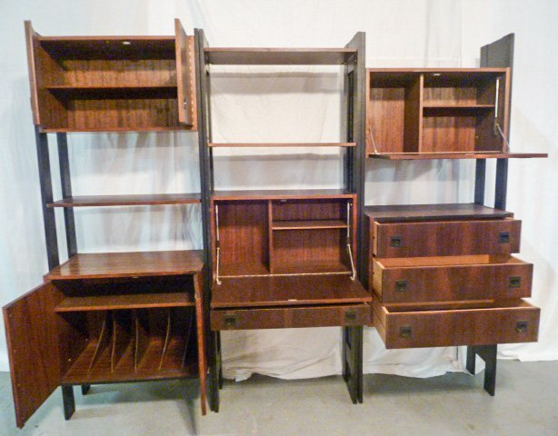 GEORGE NELSON STYLE CSS OMNI WALL UNIT - 5