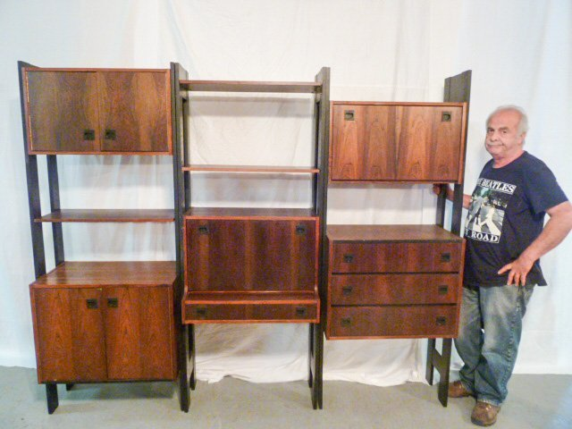 GEORGE NELSON STYLE CSS OMNI WALL UNIT - 6