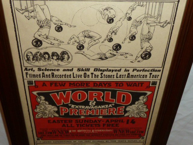 ROLLING STONES COMPLETE CONCERT MOVIE POSTER - 3