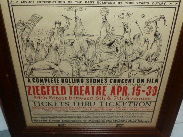 ROLLING STONES COMPLETE CONCERT MOVIE POSTER - 4