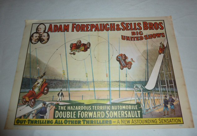 FOUR VINTAGE CIRCUS POSTERS - 2