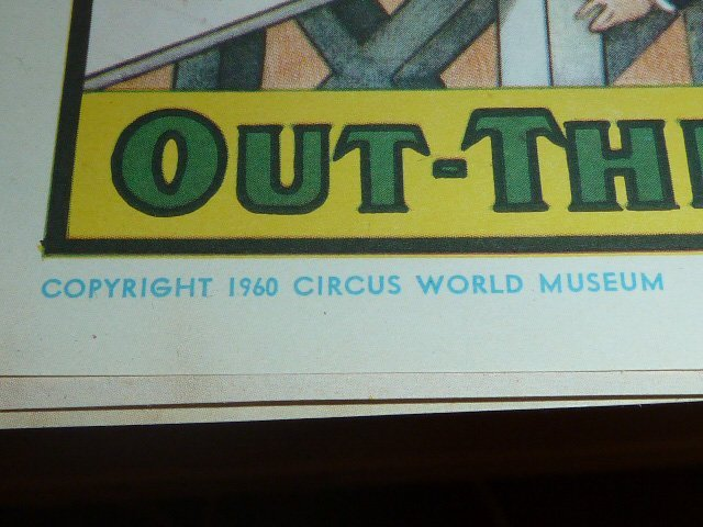 FOUR VINTAGE CIRCUS POSTERS - 6
