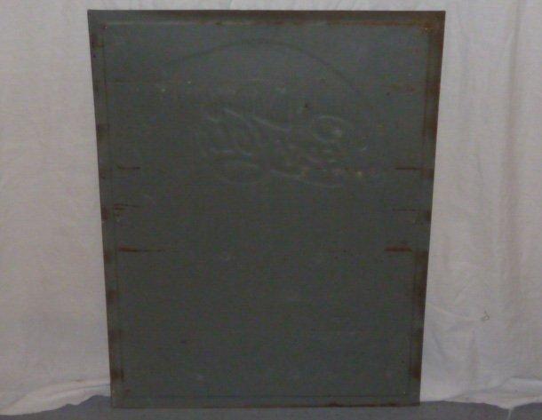 PEPSI COLA 1960'S EMBOSSED ADVERTISING SIGN - 5