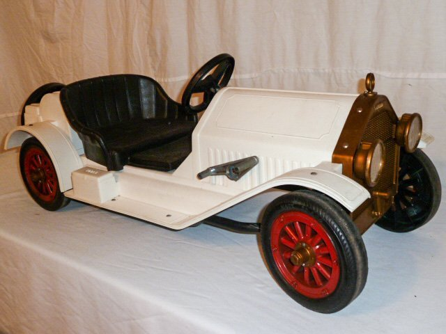 MARX BATTERY POWERED STUTZ BEARCAT CONVERTIBLE - 3