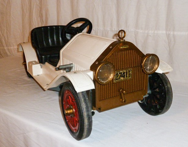 MARX BATTERY POWERED STUTZ BEARCAT CONVERTIBLE - 4