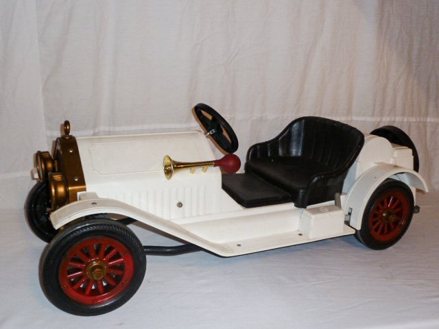 MARX BATTERY POWERED STUTZ BEARCAT CONVERTIBLE - 5