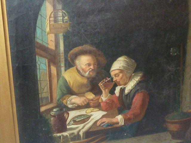 19TH C. COPY OF OLD MASTER ,FRANZ VAN MIERIS - 3
