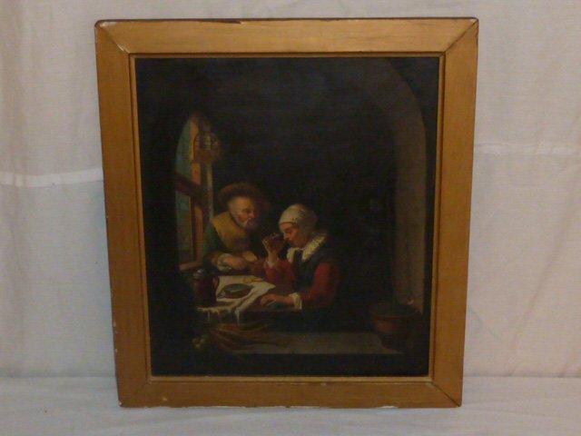 19TH C. COPY OF OLD MASTER ,FRANZ VAN MIERIS - 4