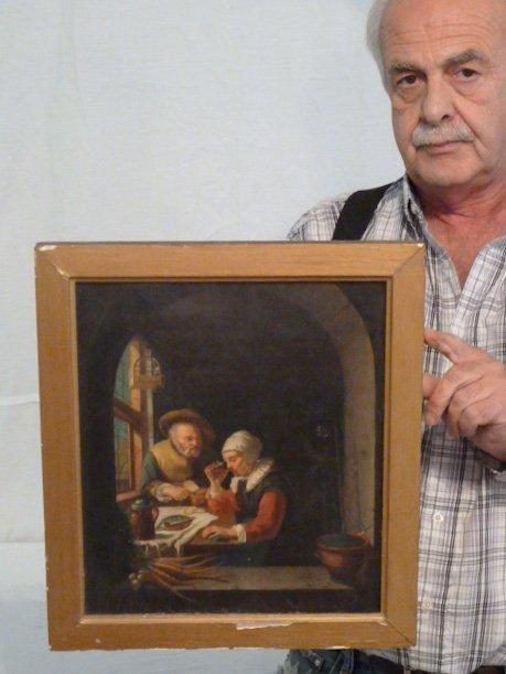19TH C. COPY OF OLD MASTER ,FRANZ VAN MIERIS - 6