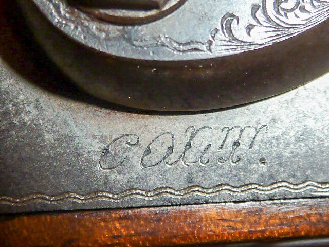 1878 COLT 12 GAUGE DOUBLE BARREL SHOTGUN DAMASK - 3