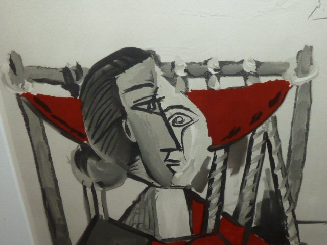 PICASSO LITHOGRAPH FRAMED 1953 - 3