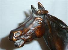 PJ MENE BRONZE SCULPTURE OF A HORSE