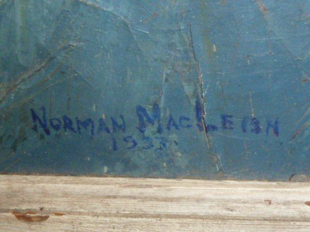 "NORMAN MacLEISH PAINTING ""MASQUERADE PARTY 1933 - 3"