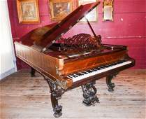 STEINWAY & SONS CONCERT GRAND PIANO