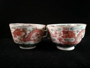 Qing imperial wedding cups