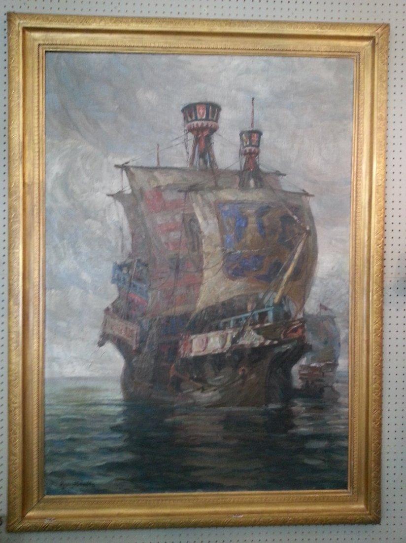 Spanish Galleons by Harry Schultz