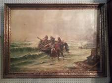 The stormy sea by C. H. Rodney