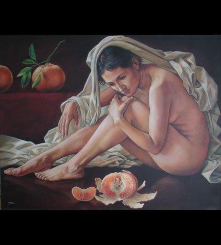 Original Acrylic-Mexican Master Merinoo--47 x 39